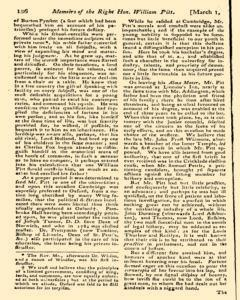 Monthly Magazine, March 01, 1806, Page 36