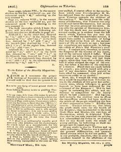 Monthly Magazine, March 01, 1806, Page 33