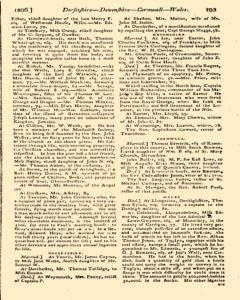 Monthly Magazine, March 01, 1806, Page 93