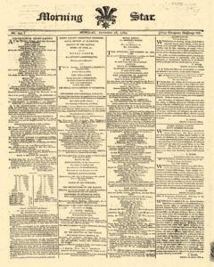 Morning Star, September 28, 1789, Page 1
