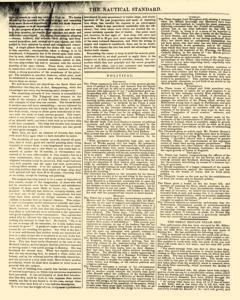 Nautical Standard and Steam Navigation Gazette, November 14, 1846, Page 8