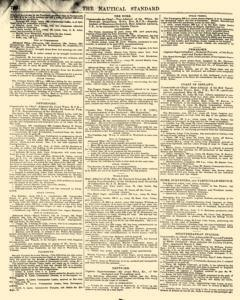 Nautical Standard and Steam Navigation Gazette, November 14, 1846, Page 14