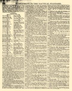 Nautical Standard and Steam Navigation Gazette, November 14, 1846, Page 20
