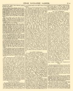 Nautical Standard and Steam Navigation Gazette, November 14, 1846, Page 7