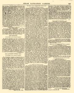 Nautical Standard and Steam Navigation Gazette, November 14, 1846, Page 9