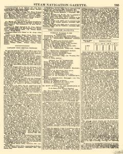 Nautical Standard and Steam Navigation Gazette, November 14, 1846, Page 23