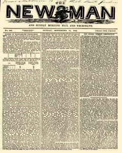 Newsman And Morning Mail And Telegraph, September 18, 1864, Page 1