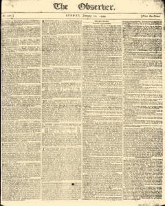 Observer, January 20, 1799, Page 1