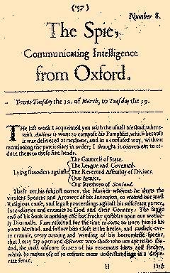 Parliamentary Intelligence, March 12, 1644, Page 1