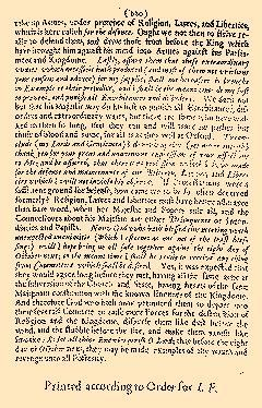 Parliamentary Intelligence, May 08, 1644, Page 1
