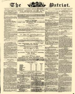 Patriot, September 11, 1854, Page 1