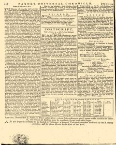 Paynes Universal Chronicle or Weekly Gazette, July 22, 1758, Page 8