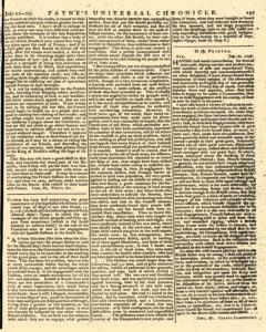 Paynes Universal Chronicle or Weekly Gazette, July 22, 1758, Page 7