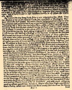 Perfect Diurnall, March 06, 1642, Page 1