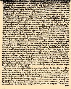 Perfect Diurnall, March 06, 1642, Page 3