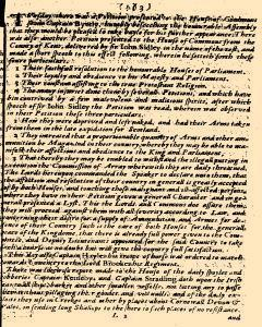 Perfect Diurnall, August 29, 1642, Page 1
