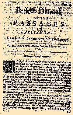 Perfect Diurnall, September 05, 1642, Page 1