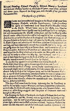 Perfect Diurnall, October 24, 1642, Page 4