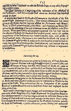 Perfect Diurnall, October 24, 1642, Page 5