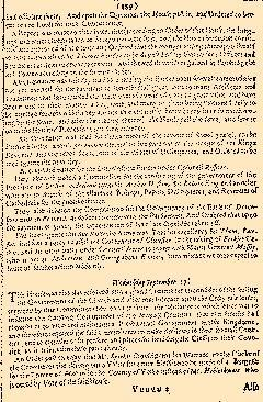 Perfect Diurnall, September 15, 1645, Page 1