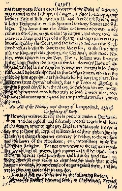 Perfect Diurnall, February 26, 1655, Page 4