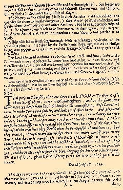Perfect Occurences of Parliament, July 19, 1644, Page 2