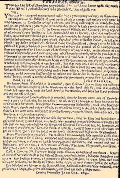 Perfect Occurences of Parliament, October 25, 1644, Page 5