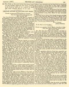 Poor Law Chronicle, February 07, 1867, Page 5