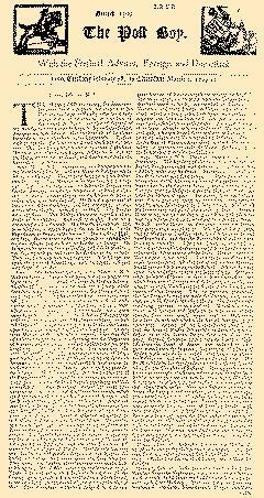 Post Boy, February 28, 1710, Page 1