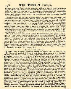 Present State Of Europe, November 01, 1813, Page 20