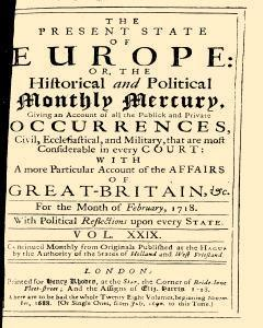 Present State Of Europe, February 01, 1818, Page 1