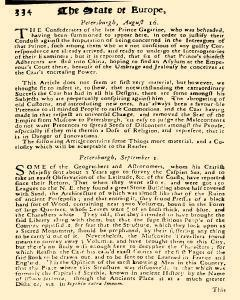 Present State of Europe, September 01, 1821, Page 14