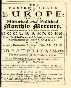 Present State Of Europe, September 01, 1821, Page 1