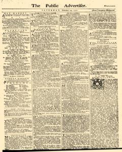 Public Advertiser, February 24, 1770, Page 1