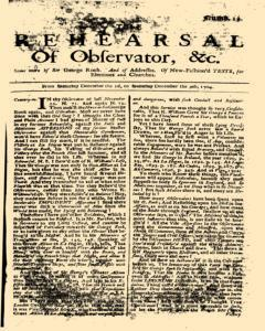 Rehearsal Of Observator, December 02, 1704, Page 1