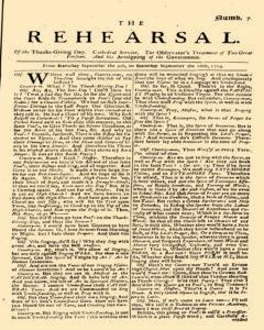 Rehearsal, September 09, 1704, Page 1