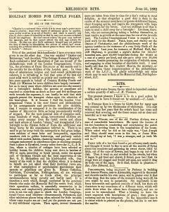 Religious Bits, June 25, 1892, Page 4