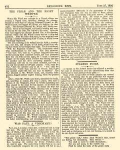 Religious Bits, June 25, 1892, Page 6