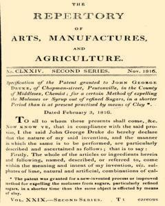 Repertory Of Arts And Manufactures, November 01, 1816, Page 1