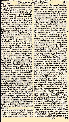 Scots Magazine, August 01, 1744, Page 16