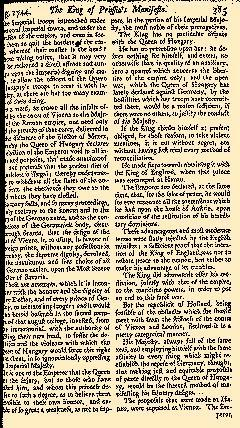 Scots Magazine, August 01, 1744, Page 17