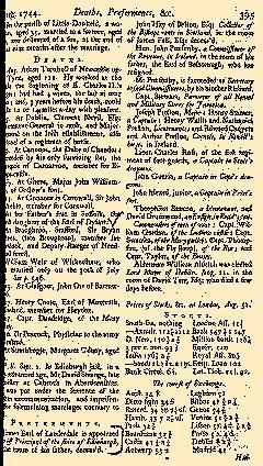 Scots Magazine, August 01, 1744, Page 22
