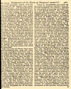 Scots Magazine, December 01, 1744, Page 17