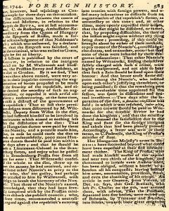 Scots Magazine, December 01, 1744, Page 18
