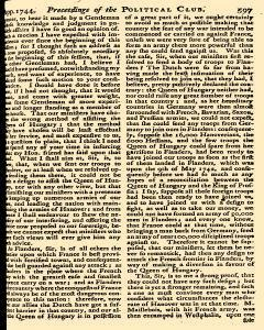 Scots Magazine, December 01, 1744, Page 25