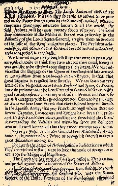 Several Proceedings of State Affaires, July 27, 1654, Page 5