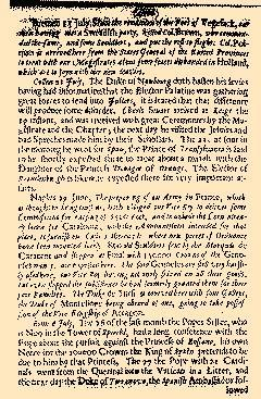 Several Proceedings of State Affaires, July 27, 1654, Page 7