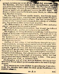 Several Proceedings of State Affaires, July 27, 1654, Page 3