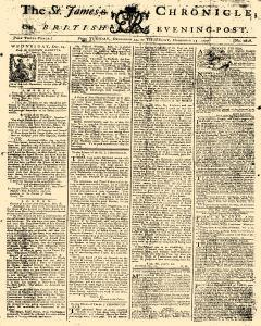 St James Chronicle or British Evening Post