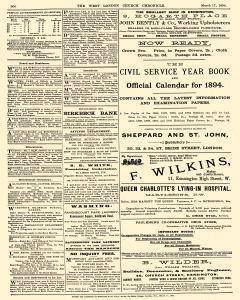 West London Church Chronicle, March 17, 1894, Page 8
